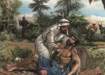 Der barmherzige Samariter als Vorbild