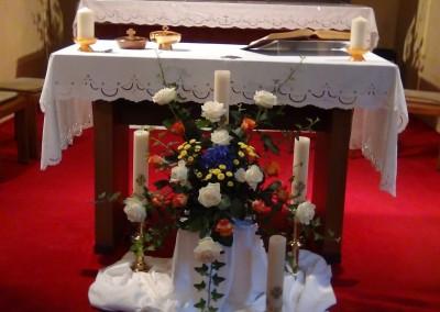 Feierliches Fest am 15. August 2014 (Maria Himmelfahrt) in Graz - Schwester Marija Darojkovic legt die Ewigen Gelübde ab.