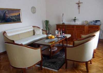 Im Haus der Dienerinnen Christi in Zagreb in Kroatien