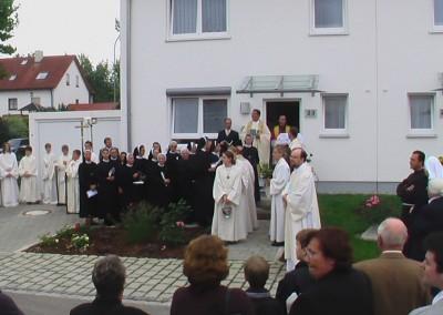 Schwestern Dienerinnen Christi bei der Einweihungsfeier des Klosters St. Joseph im Jahr 2006