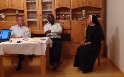 Ein Besuch von Schwester Mirjam in Königsbrunn