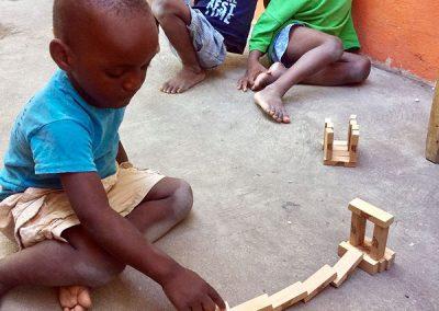 Kinder in der Missionsstation