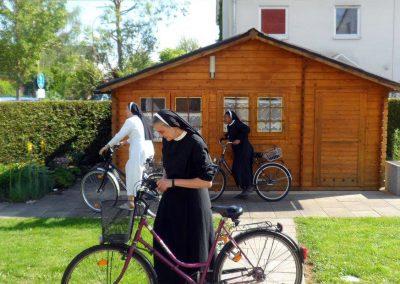 Testen neuer Fahrräder