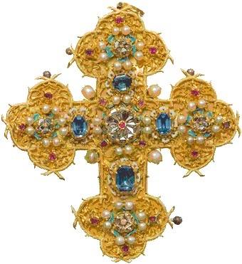 Spätgotisches Ulrichskreuz