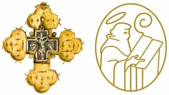Ulrichskreuz und heiliger Ulrich