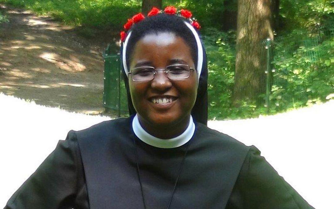Erste Profess von Sr. Mary Mutio Kithuka am 24. Juli 2016