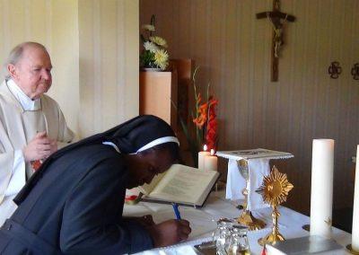 Erneuerung der Ordensgelübde