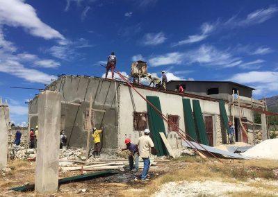 Missionszentrum auf Haiti