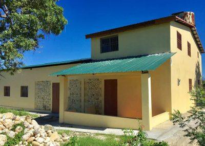 Das fertiggestellte Missionszentrum in Haiti