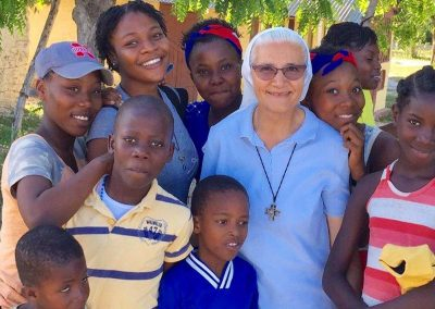 Sr. Mirjam in Mission in Haiti