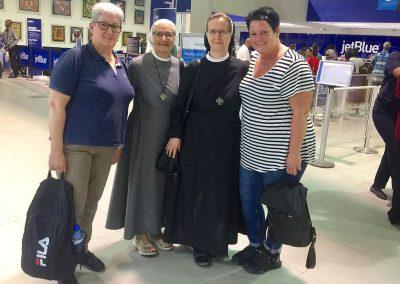 Fr. Merli, Sr. Filipović, Sr. Šimić, Fr. Jarasch