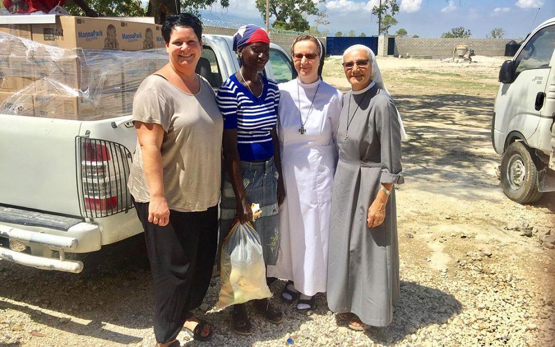 Besuch im Missionszentrum in Haiti